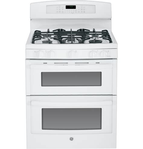 ge profile gas range ge profile series 30 quot free standing gas oven with convection range pgb950defww ge
