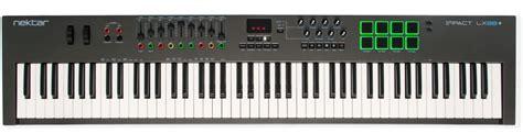Nektar Impact Lx25 Gigbag Morris Series nektar impact lx88 88 key midi controller keyboard sweetwater