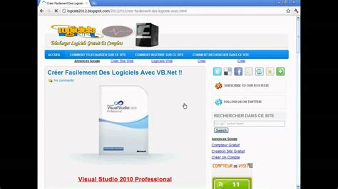tutorial visual studio 2010 youtube vb net tutorial 1 telecharger visual studio 2010 flv