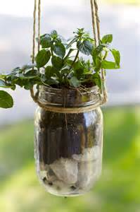 diy herb planter diy mason jar hanging herb planter ramshackle glam
