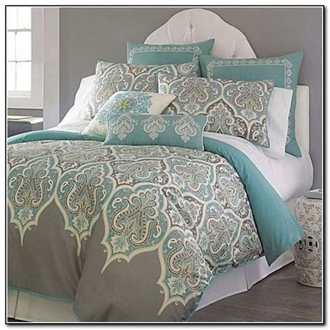 grey and turquoise bedding turquoise grey and white bedding beds home design