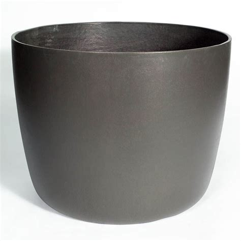 kyoto modern tapered planter pot stardust