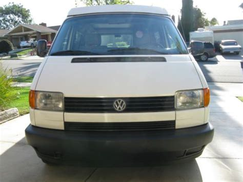 electric and cars manual 1995 volkswagen eurovan on board diagnostic system buy used 1995 vw eurovan cer 5 speed manual shift 5 cyl in anaheim california united