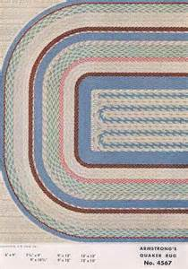 31 linoleum rugs from armstrong 1954 retro renovation