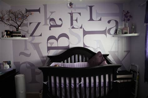 purple baby room purple transitional nursery project nursery