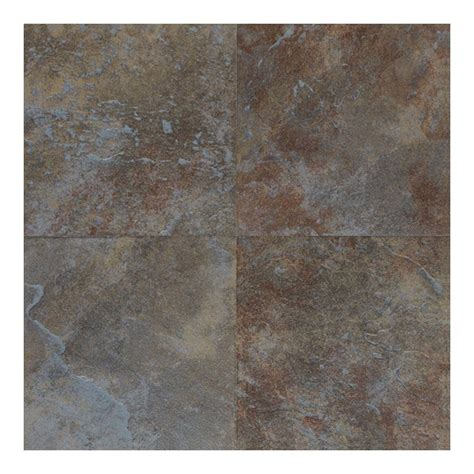 daltile continental slate tuscan blue 18 in x 18 in porcelain floor and wall tile 18 sq ft