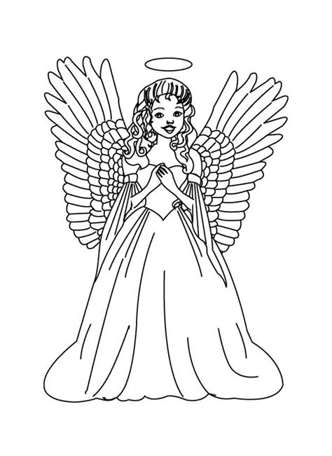 coloring book pages of angels male guardian angel coloring page az coloring pages