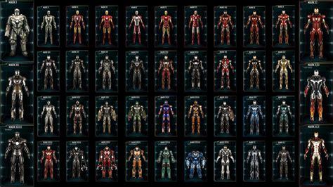 evolution iron mans armour