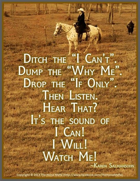 ditch the quot i can t quot dump the quot why me quot drop the quot if only