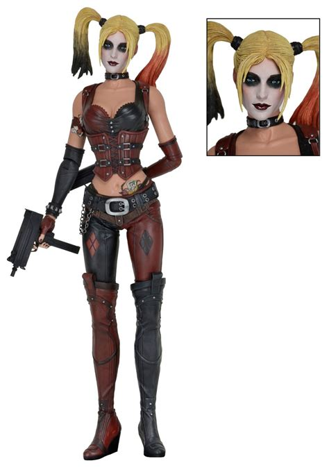Harley Home Decor by Batman Arkham City 1 4 Scale Action Figure Harley Quinn