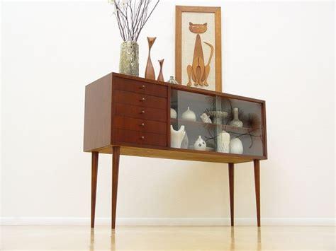 mid century display cabinet danish mid century modern credenza display cabinet eames
