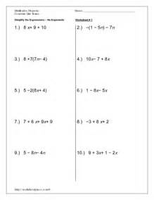 worksheets solving equations with distributive property