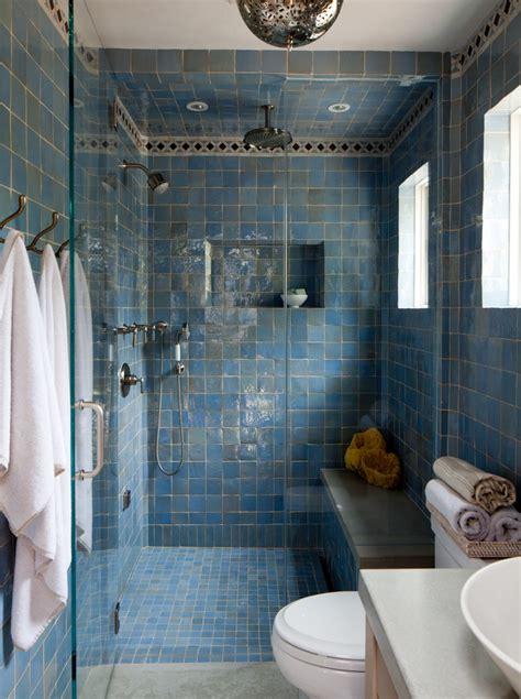 moroccan bathrooms bathroom mediterranean  square