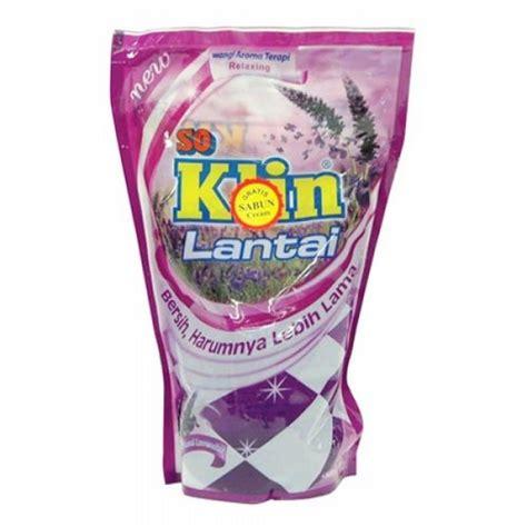 Soklin Lantai 800 Ml Bouquet soklin floor cleaner pouch ungu 800ml