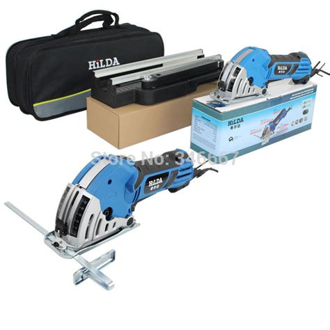 Tool Kit Electric Hozan Type S 10 230 free shipping sale the newest mini saw with metal pulley rail and workbench for wood metal