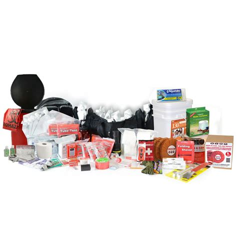 premium 2 week earthquake kit 4 person