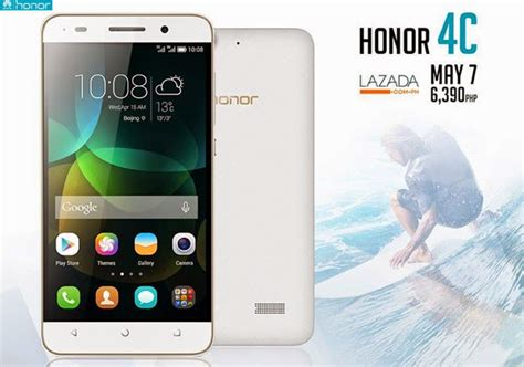Hp Huawei Honor C4 5 inch huawei honor 4c with 2gb ram now available in the