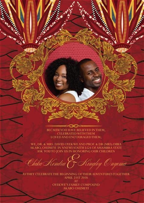 Traditional Zulu Wedding Invitation Card by Printable Wedding Invitation Card
