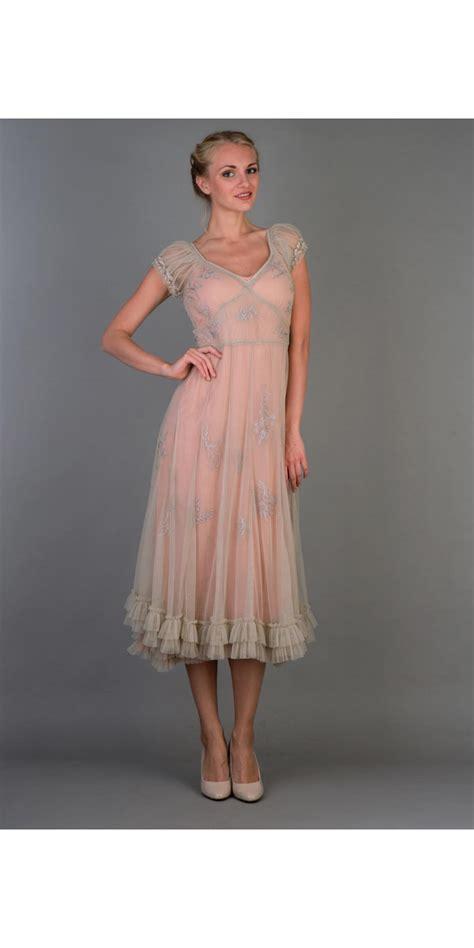 Natahua Dress nataya 40193 ballerina dress in antique pink