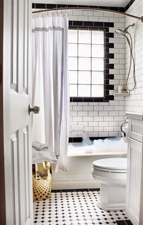 black and white subway tile bathroom 35 black and white subway bathroom tile ideas and pictures