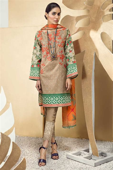 design dress collection khaadi latest summer lawn dresses designs collection 2018 2019