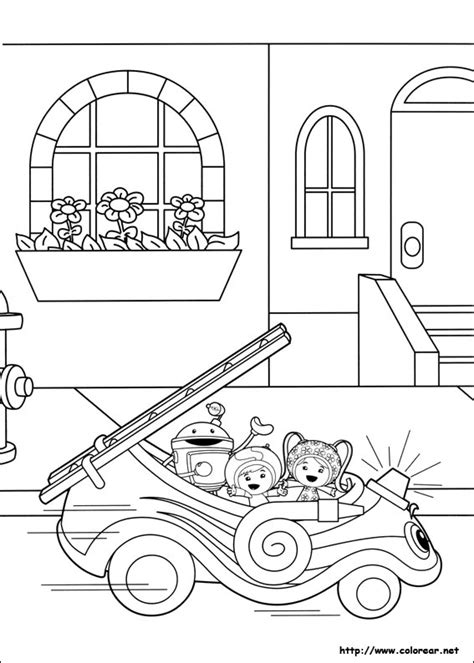 umizoomi car coloring pages dibujos para colorear de umizoomi
