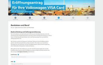 volkswagen bank kreditkarte volkswagen bank visa kreditkarte