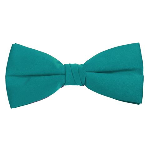 turquoise bow ties pre with an adjustable band