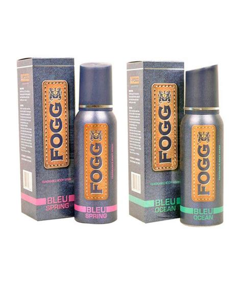 fogg deodorant review fogg deodorant price fogg fogg bleu spring bleu ocean deodorant combo each 60 ml