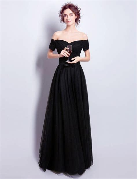 audrey hepburn gown audrey hepburn inspired black off shoulder dress