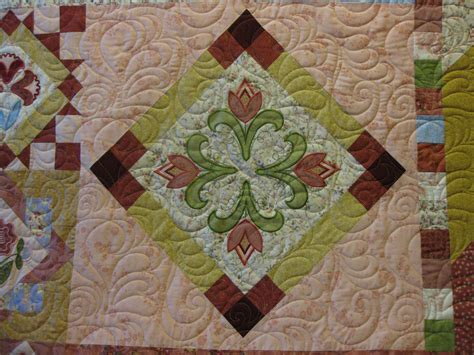 Machine Embroidered Quilts by Millie S Quilting Machine Appliqued And Embroidered Quilts