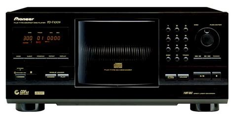 audio format to play on cd player pd f1009 301 disc cd player pioneer electronics usa