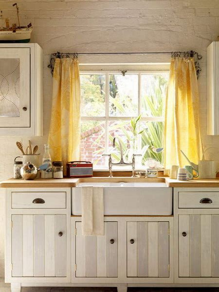 Kitchen Curtain Ideas by Shabby Chic Decor And Kitchen Curtain Ideas Afreakatheart