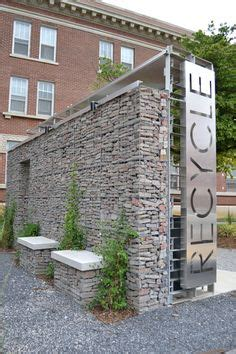 terra department of architecture university of memphis gabion walls in residential and commercial landscapes