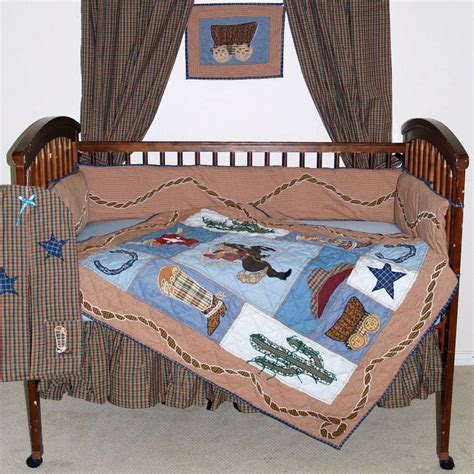 26 Best Images About Kids Bedrooms On Pinterest Western Western Crib Bedding