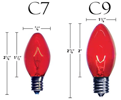 christmas bulb size chart lighting tips all seasons roofing nc
