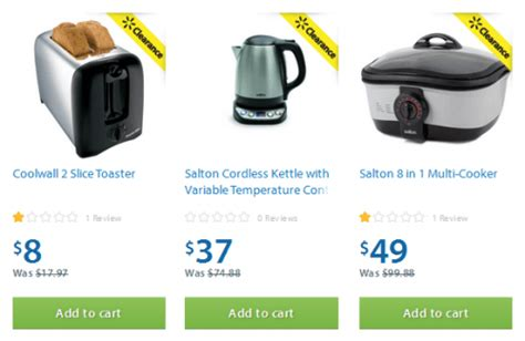 walmart small kitchen appliances walmart canada small kitchen appliances 50 off free