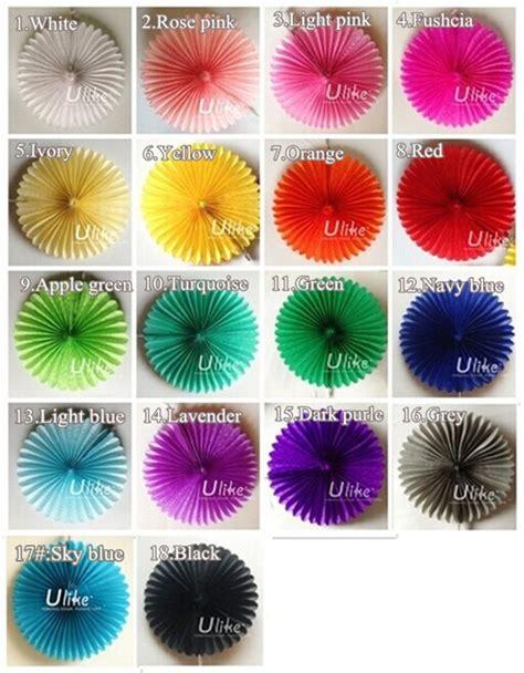 buy paper fans in bulk paper fans bulk decoration colorful tissue paper fan
