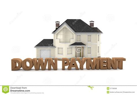 house loan without down payment real estate down payment royalty free stock photos image 37790568
