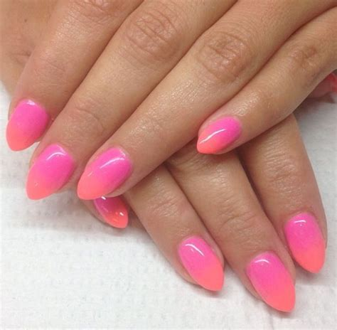 how to do ombre stiletto nail stiletto nails by gina ombre nails pinterest