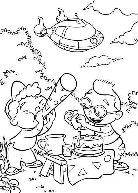 Little Einsteins Coloring Pages For Kids Printable Free Coloring Pages Pinterest Horns Einsteins Coloring Pages