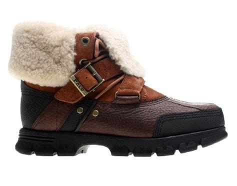 cheap polo boots cheap polo ralph s tavin rollover shearling