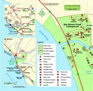 san simeon california map san simeon images