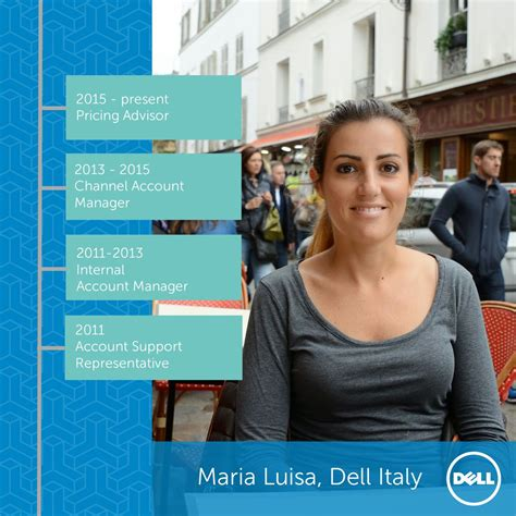 Mba Careers At Dell by Meet Luisa From Dell Italy She S Been With Us Since