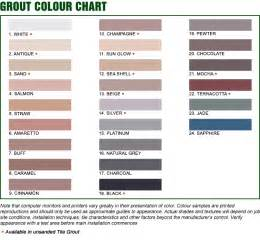 grout color chart grey micro milling sanded grout the home expo