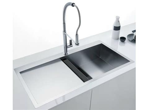 lavello filo top lavello a una vasca filo top in acciaio inox e cristallo