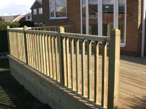 Decking Balustrade Sheffield Landscaper Gallery Patios Decking Ponds Fencing