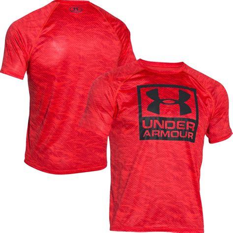 Clothing Armour Boxed Logo armour 2016 boxed logo bedrucktes t shirt herren
