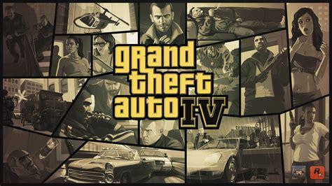 Grand Theft Auto 4 Logo by Grand Theft Auto 4 Logo Wallpaper Gta Iv 64