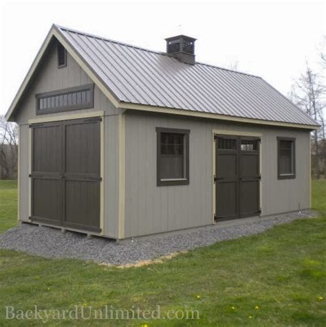Storage Shed Garage Door by 12 X24 Custom Garden Shed With Walls Additional